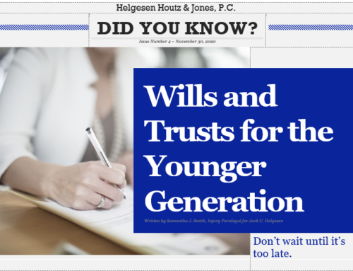 Did you know? Wills and trusts for the younger generation