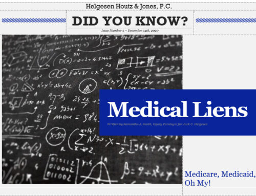 Understanding medical liens